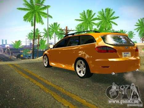 Ford Mondeo Sportbreak pour GTA San Andreas sur la vue arrière gauche