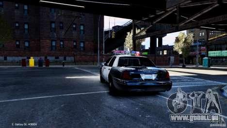 CVPI LCPD San Diego Police Department für GTA 4 hinten links Ansicht