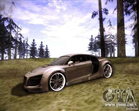 Audi R8 für GTA San Andreas Seitenansicht