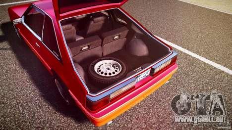 Ford Mustang GT 1993 Rims 2 pour GTA 4 est une vue de dessous
