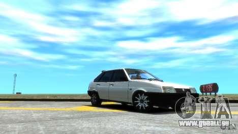 VAZ 2109 leichte tuning für GTA 4 obere Ansicht