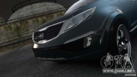 Kia Sportage 2010 v1.0 pour GTA 4 Vue arrière de la gauche