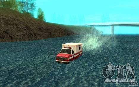 Ambulan boat für GTA San Andreas