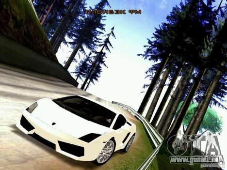 Lamborghini Gallardo LP560-4 für GTA San Andreas zurück linke Ansicht