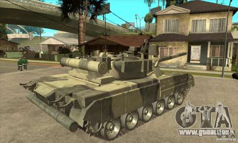 T-80U MBT pour GTA San Andreas vue de droite