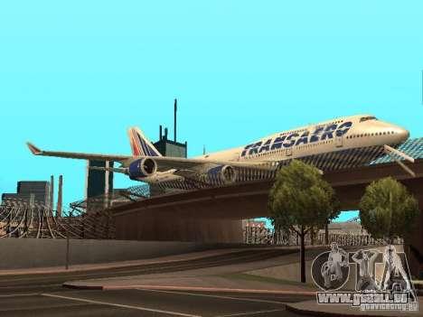 Boeing 747-400 pour GTA San Andreas vue arrière