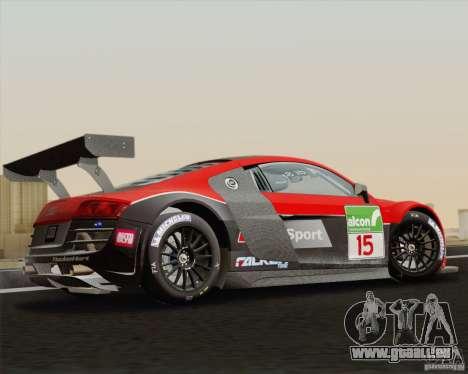 Audi R8 LMS v2.0.1 für GTA San Andreas linke Ansicht