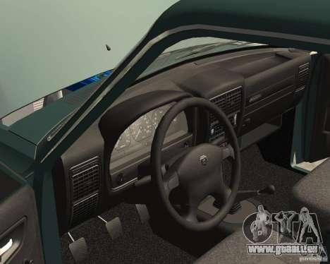 Volga GAZ 3110 für GTA San Andreas Seitenansicht