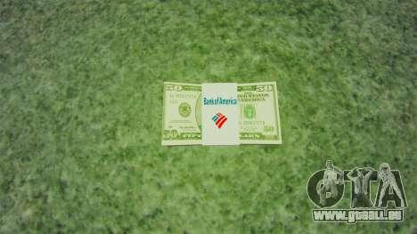 USA-Banknoten im Wert von $ 50 für GTA 4