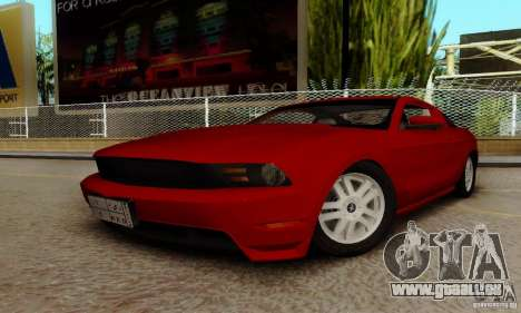 Ford Mustang 2010 pour GTA San Andreas