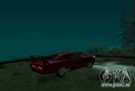 Dodge Charger Daytona für GTA San Andreas linke Ansicht