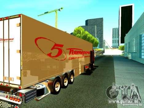 Neuer trailer für GTA San Andreas zurück linke Ansicht