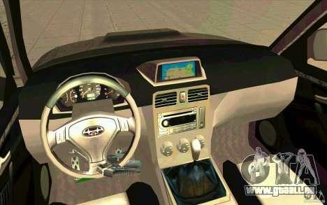 Subaru Forester Cross Sport 2005 pour GTA San Andreas vue de droite
