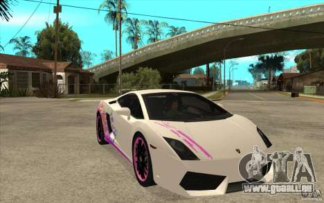 Lamborghini Gallardo LP560-4 für GTA San Andreas Innenansicht