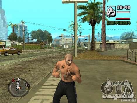 Blatnye Tätowierungen für GTA San Andreas dritten Screenshot