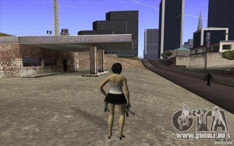 Kaileena big fan pour GTA San Andreas troisième écran