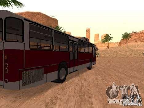 MAN SL200 Exclusive v.1.00 pour GTA San Andreas sur la vue arrière gauche