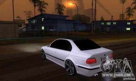 BMW M5 E39 2003 pour GTA San Andreas laissé vue