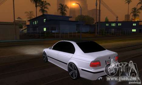 BMW M5 E39 2003 für GTA San Andreas linke Ansicht