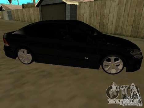 Chevrolet Vectra Elite 2.0 pour GTA San Andreas laissé vue