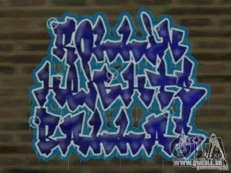 New LS gang tags pour GTA San Andreas cinquième écran