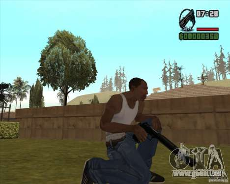 Black Chrome Eagle für GTA San Andreas dritten Screenshot
