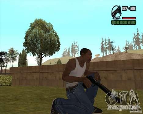Black Chrome Eagle für GTA San Andreas dritten Screenshot