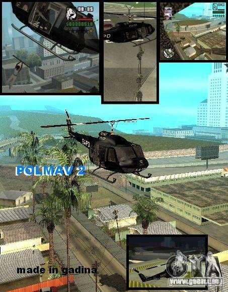 Police Maverick 2 für GTA San Andreas
