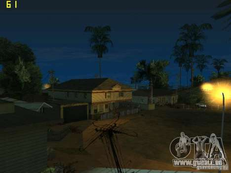 GTA SA IV Los Santos Re-Textured Ciy pour GTA San Andreas cinquième écran