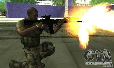 Sam Fisher Army SCDA pour GTA San Andreas troisième écran