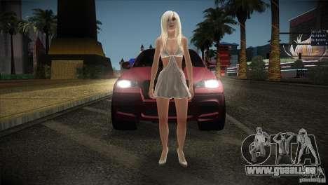 BMW X6 Lumma pour GTA San Andreas vue de côté