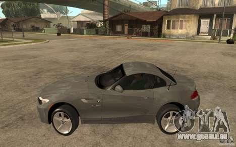 BMW Z4 sdrive35is 2011 pour GTA San Andreas laissé vue