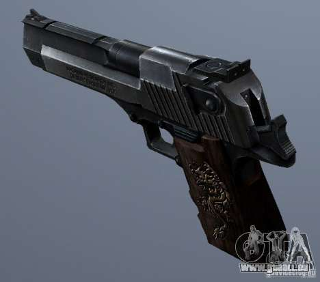 Desert Eagle - Old model pour GTA San Andreas
