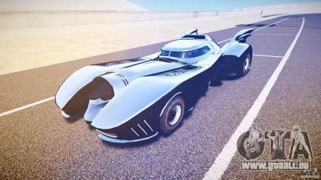 Batmobile v1.0 für GTA 4 linke Ansicht