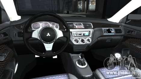 Mitsubishi Lancer Evolution VIII v1.0 pour GTA 4 Vue arrière