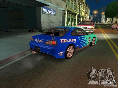 Nissan Silvia S15 Tunable KIT C1 - TOP SECRET für GTA San Andreas Seitenansicht