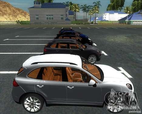 Porsche Cayenne 958 v1.1 pour GTA San Andreas vue de droite