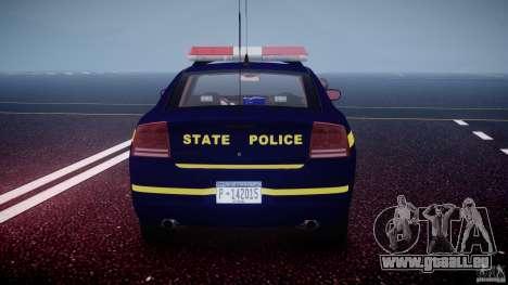 Dodge Charger NY State Trooper CHGR-V2.1M [ELS] pour le moteur de GTA 4