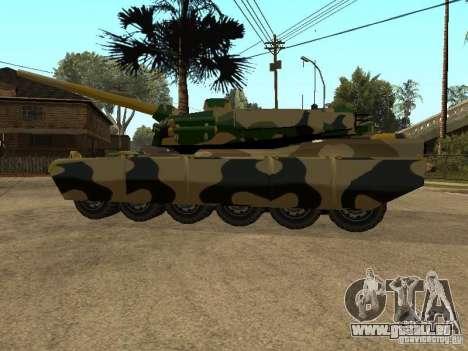 Camouflage pour Rhino pour GTA San Andreas vue de droite