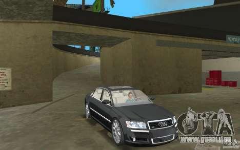 Audi A8 pour une vue GTA Vice City de l'intérieur