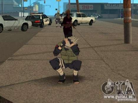 Hatake Kakashi From Naruto für GTA San Andreas siebten Screenshot