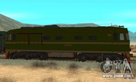Custom Graffiti Train 2 pour GTA San Andreas laissé vue
