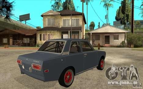 Datsun 510 JDM Style für GTA San Andreas rechten Ansicht