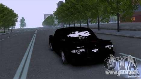 GAZ Wolga 31105 für GTA San Andreas zurück linke Ansicht