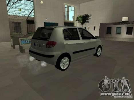Hyundai Getz für GTA San Andreas zurück linke Ansicht