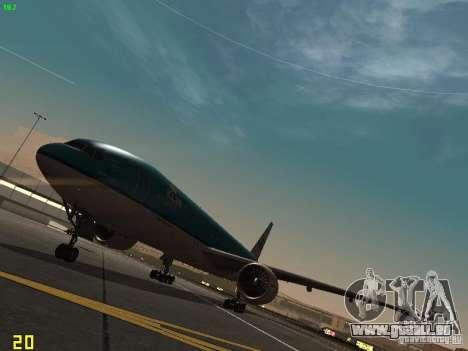 Boeing 777-200 KLM Royal Dutch Airlines pour GTA San Andreas laissé vue