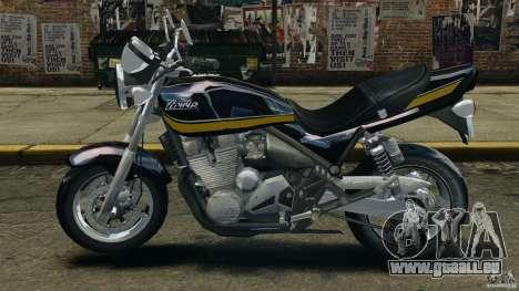 Kawasaki Zephyr pour GTA 4 est une gauche