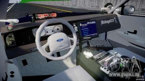 Ford Crown Victoria Homeland Security [ELS] pour GTA 4 est un droit
