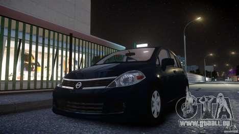 Nissan Versa für GTA 4 hinten links Ansicht