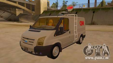 Ford Transit CNN für GTA San Andreas